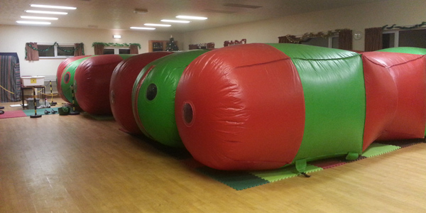 Caterpillar play rooms Cornwall