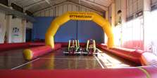 Go-Karting indoors Cornwall